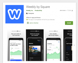 weebly app for SEO